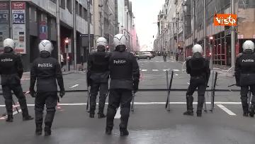 2 - I Gilet gialli protestano a Bruxelles