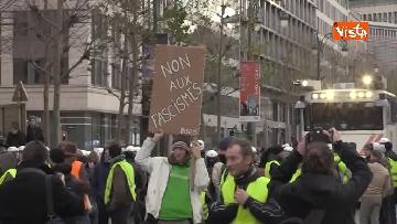 3 - I Gilet gialli protestano a Bruxelles