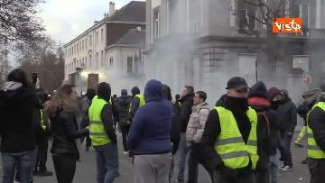 6 - I Gilet gialli protestano a Bruxelles