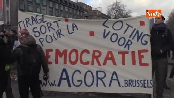 5 - I Gilet gialli protestano a Bruxelles
