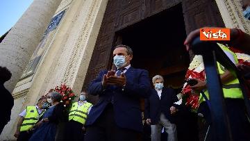 15 - Funerale Zavoli, le immagini del funerale nella chiesa di San Salvatore in Lauro a Roma