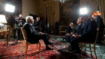 2 - Mattarella intervistato dai media del Vaticano