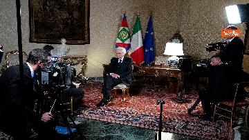 4 - Mattarella intervistato dai media del Vaticano