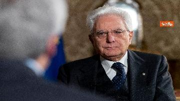 3 - Mattarella intervistato dai media del Vaticano