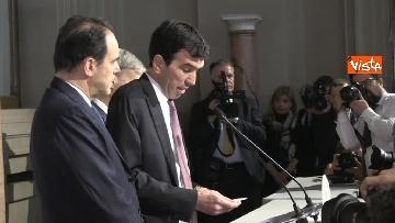 6 - Consultazioni, il Pd al Quirinale guidato da Martina, Orfini, Delrio e Marcucci
