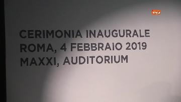 1 - Conte all'inaugurazione della fondazione Leonardo