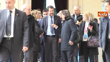 6 - Conte e Salvini ad assemblea Rete Imprese Italia immagini