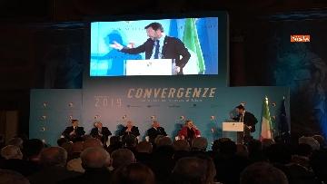 11 - Conte e Salvini ad assemblea Rete Imprese Italia immagini