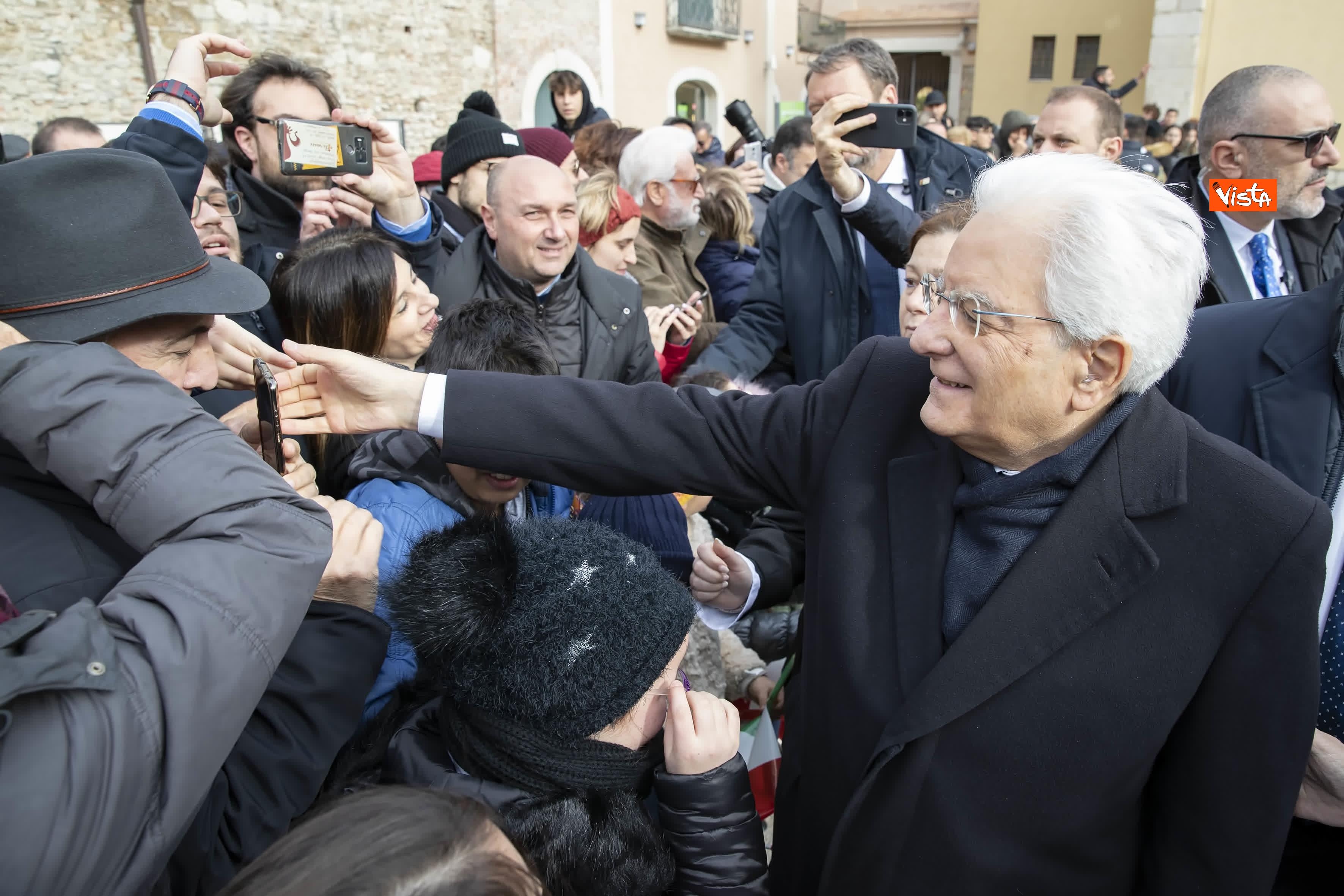 28-01-20 Mattarella a Benevento visita il Museo del Sannio e la Chiesa di Santa Sofia_07