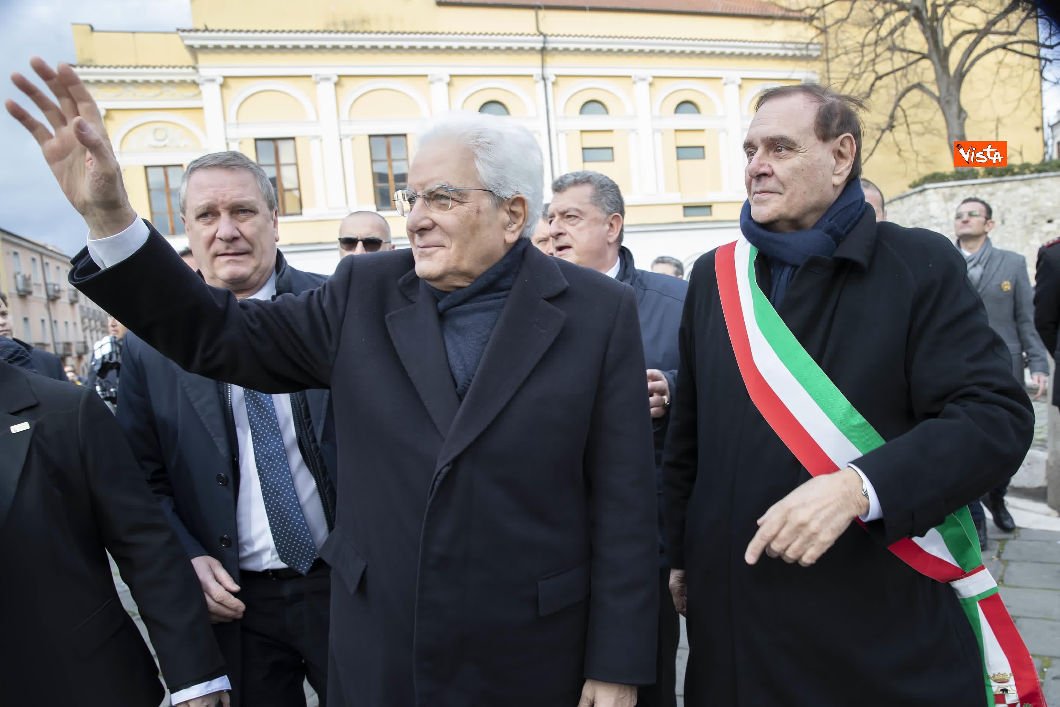28-01-20 Mattarella a Benevento visita il Museo del Sannio e la Chiesa di Santa Sofia_08
