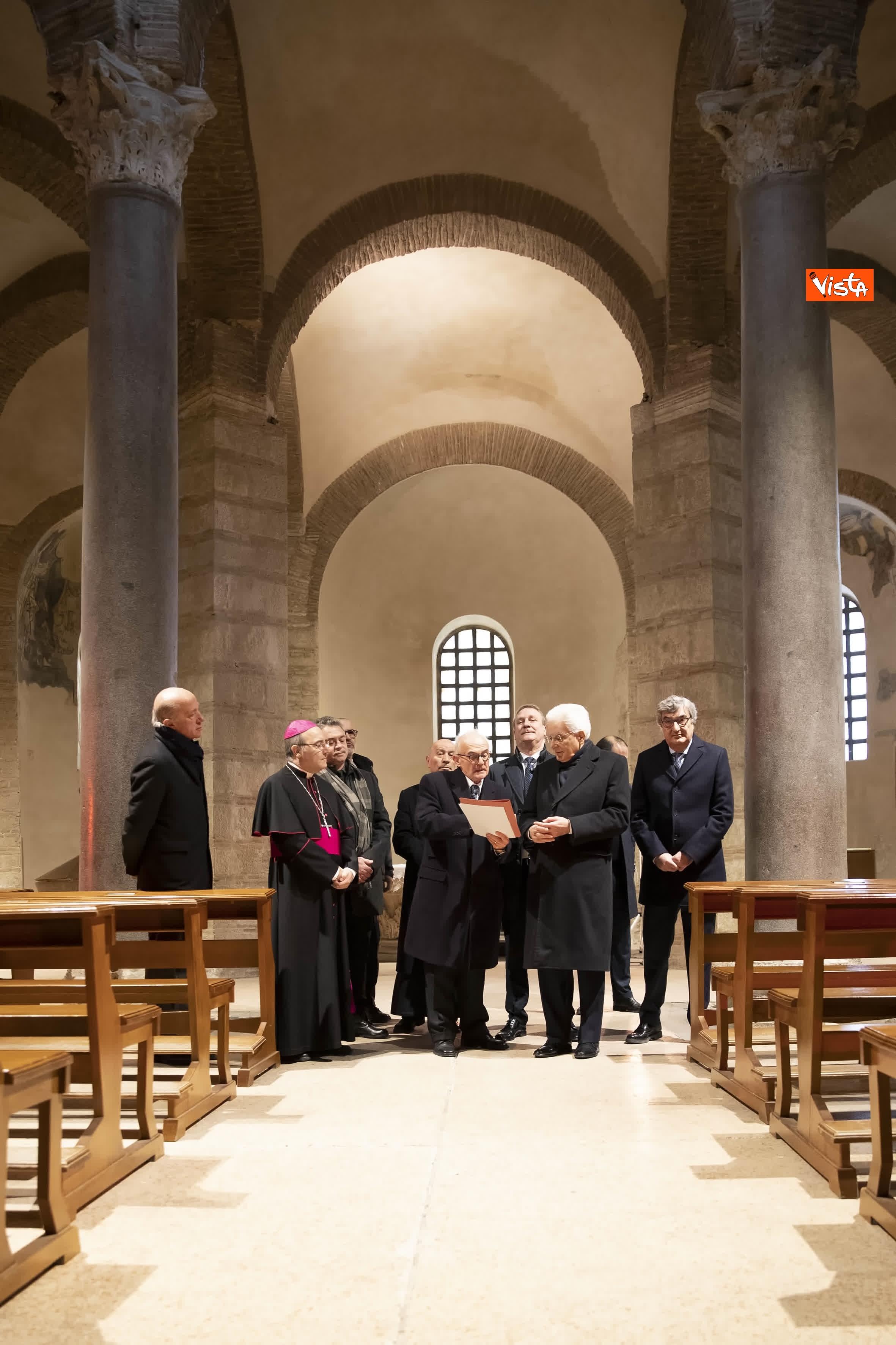 28-01-20 Mattarella a Benevento visita il Museo del Sannio e la Chiesa di Santa Sofia_03