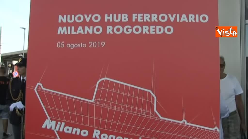 05-08-19 Hub Milano Rogoredo Fs presenta potenziamento con Battisti Toninelli Salvini_04