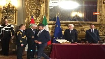 5 - Il giuramento di Fraccaro, il Ministro dei Rapporti con il Parlamento