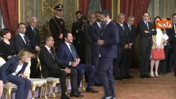 4 - Il giuramento di Fraccaro, il Ministro dei Rapporti con il Parlamento