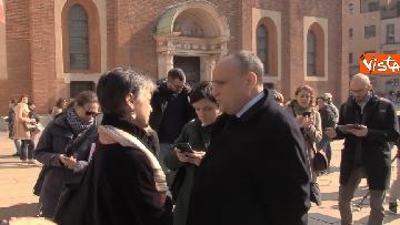 2 - Settimana dei Musei, il ministro Bonisoli visita il Cenacolo Vinciano a Milano