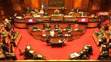 1 - Covid, Conte riferisce in Aula Senato su proroga stato emergenza, immagini