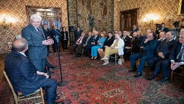 6 - Mattarella incontra una Delegazione della Lega Italiana per la lotta contro i tumori