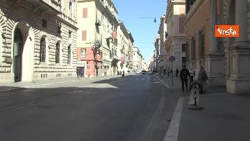 15 - Roma città deserta, la Capitale ai tempi del coronavirus