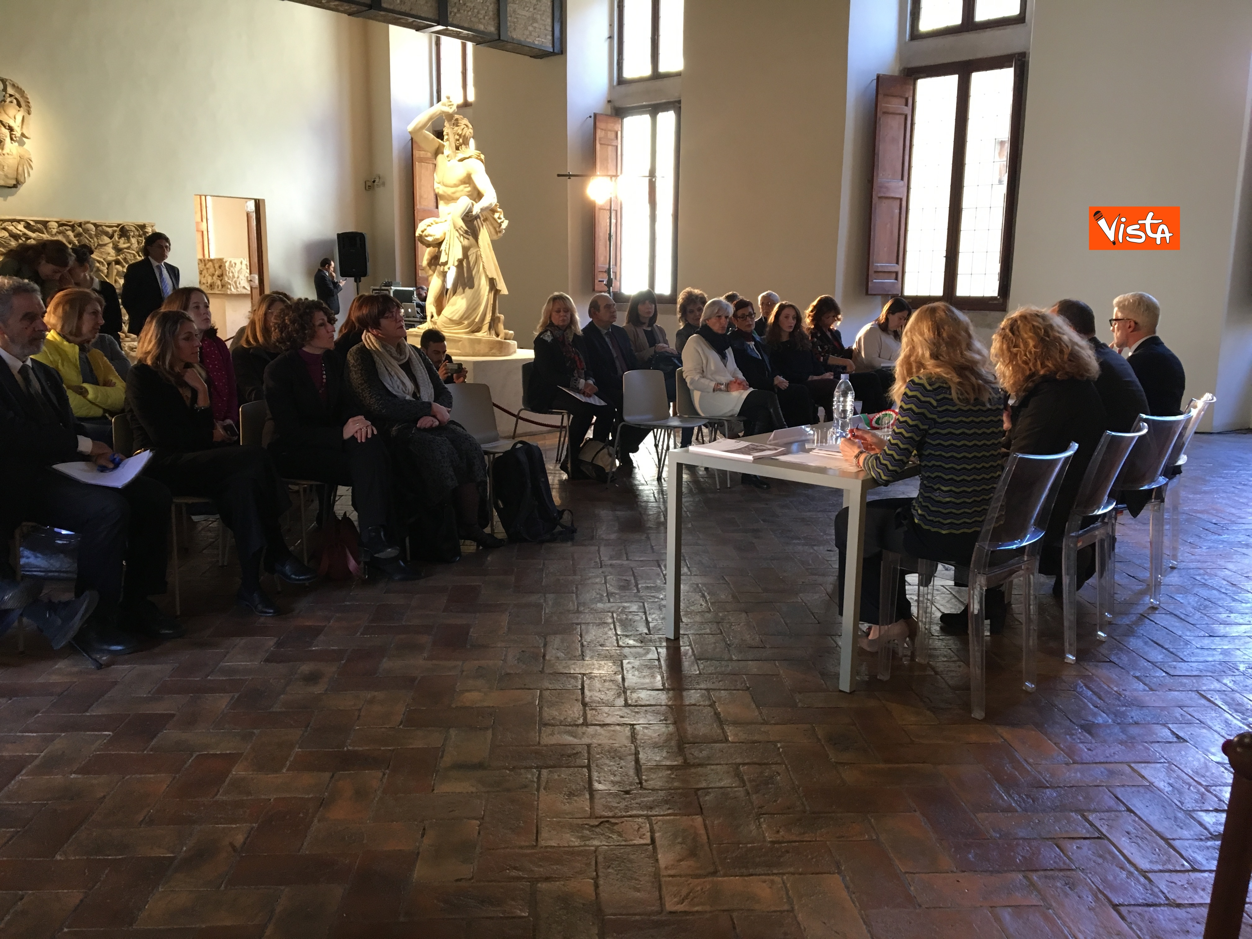 16-05-19 Museo per tutti la presentazione del progetto con Bonisoli a Palazzo Altemps_02