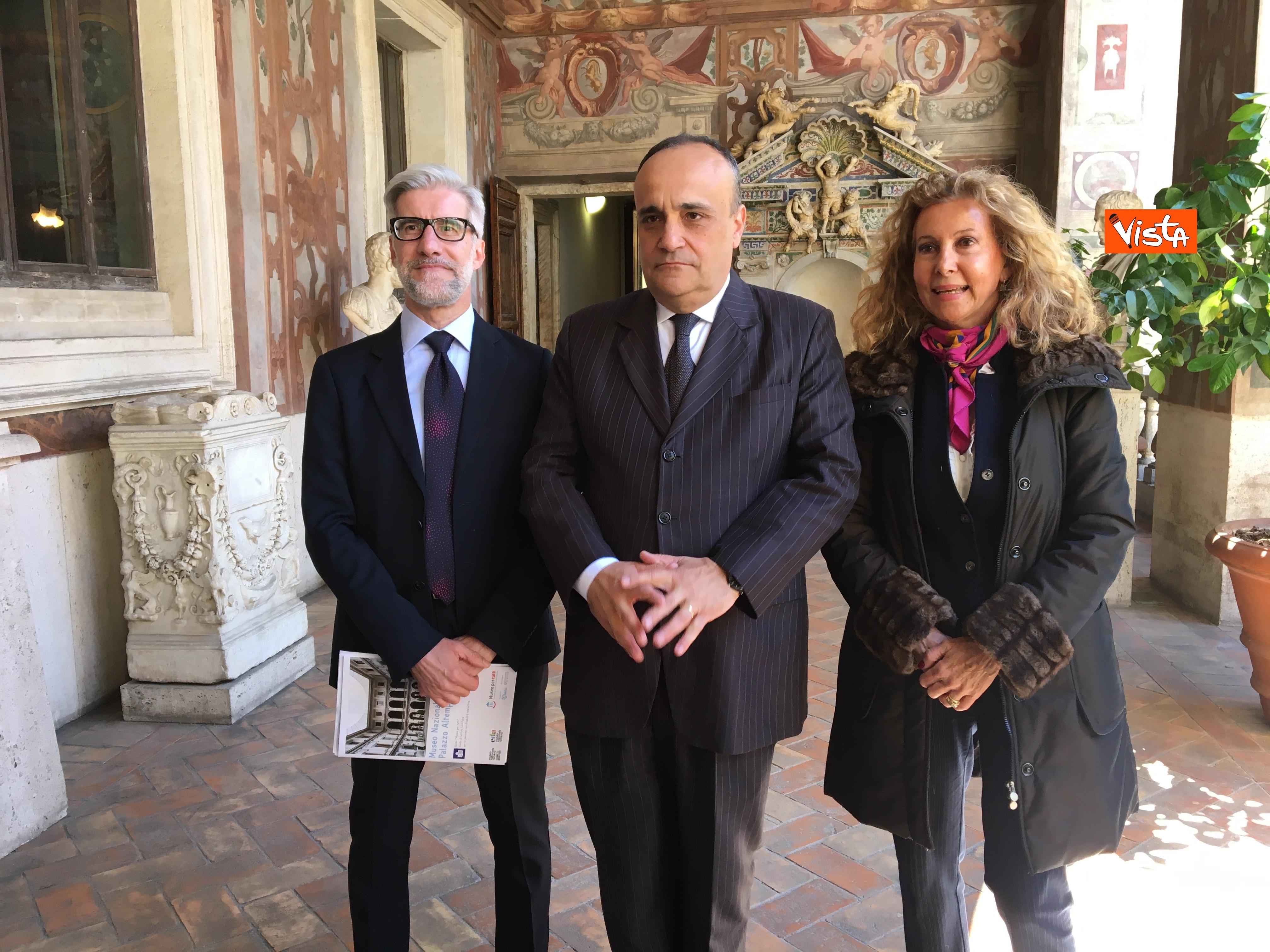 16-05-19 Museo per tutti la presentazione del progetto con Bonisoli a Palazzo Altemps_11
