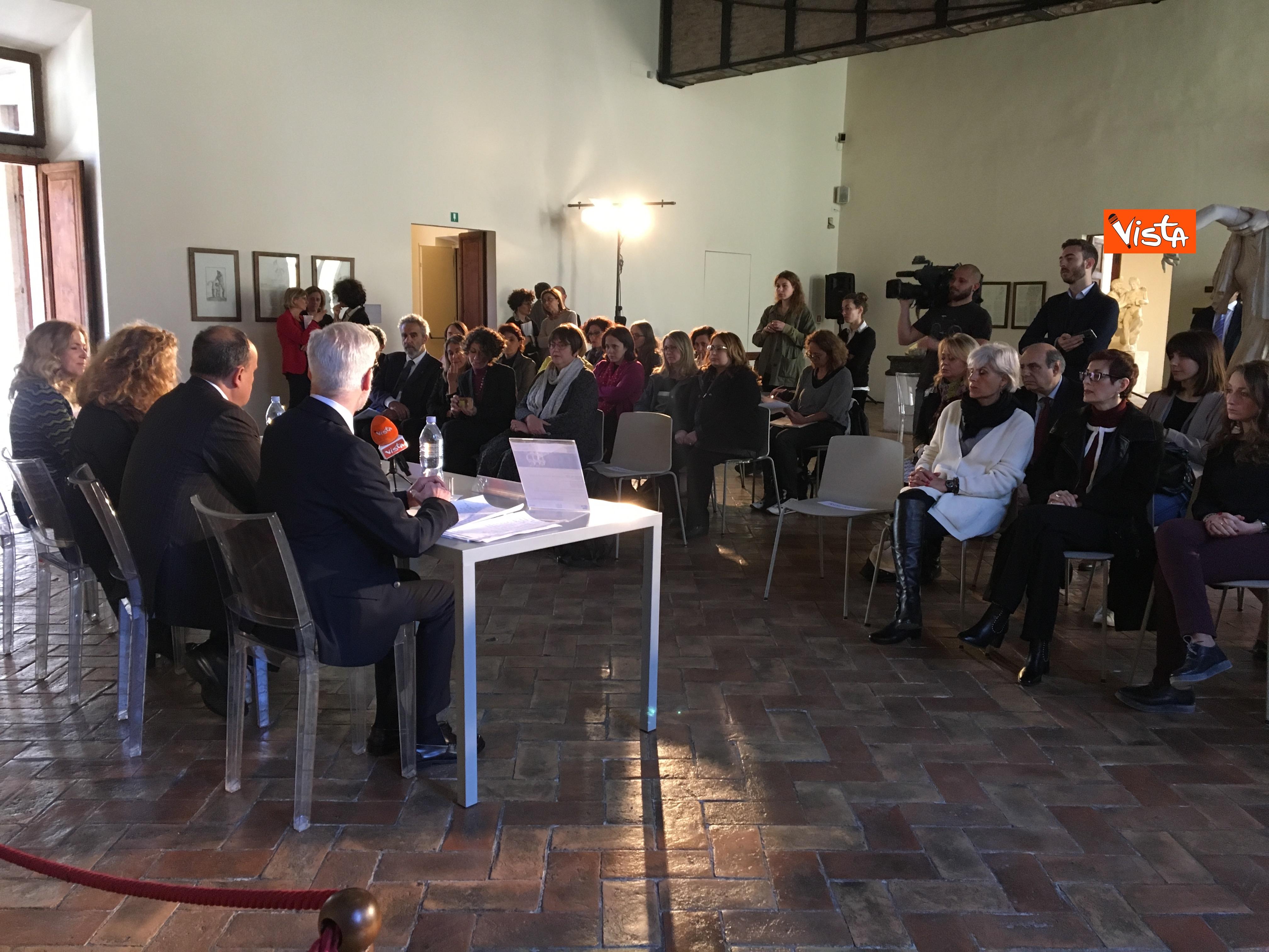 16-05-19 Museo per tutti la presentazione del progetto con Bonisoli a Palazzo Altemps_05