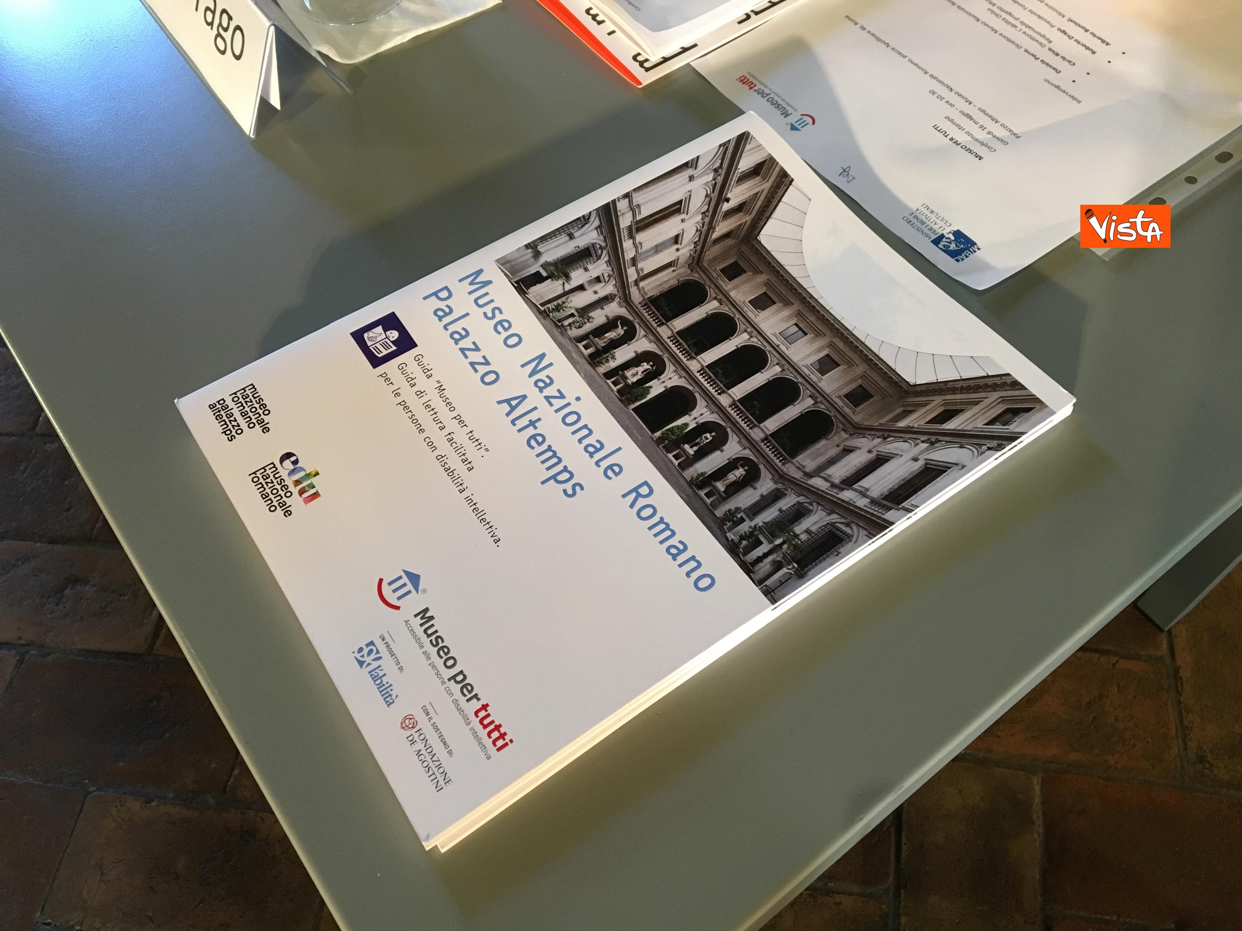 16-05-19 Museo per tutti la presentazione del progetto con Bonisoli a Palazzo Altemps_09