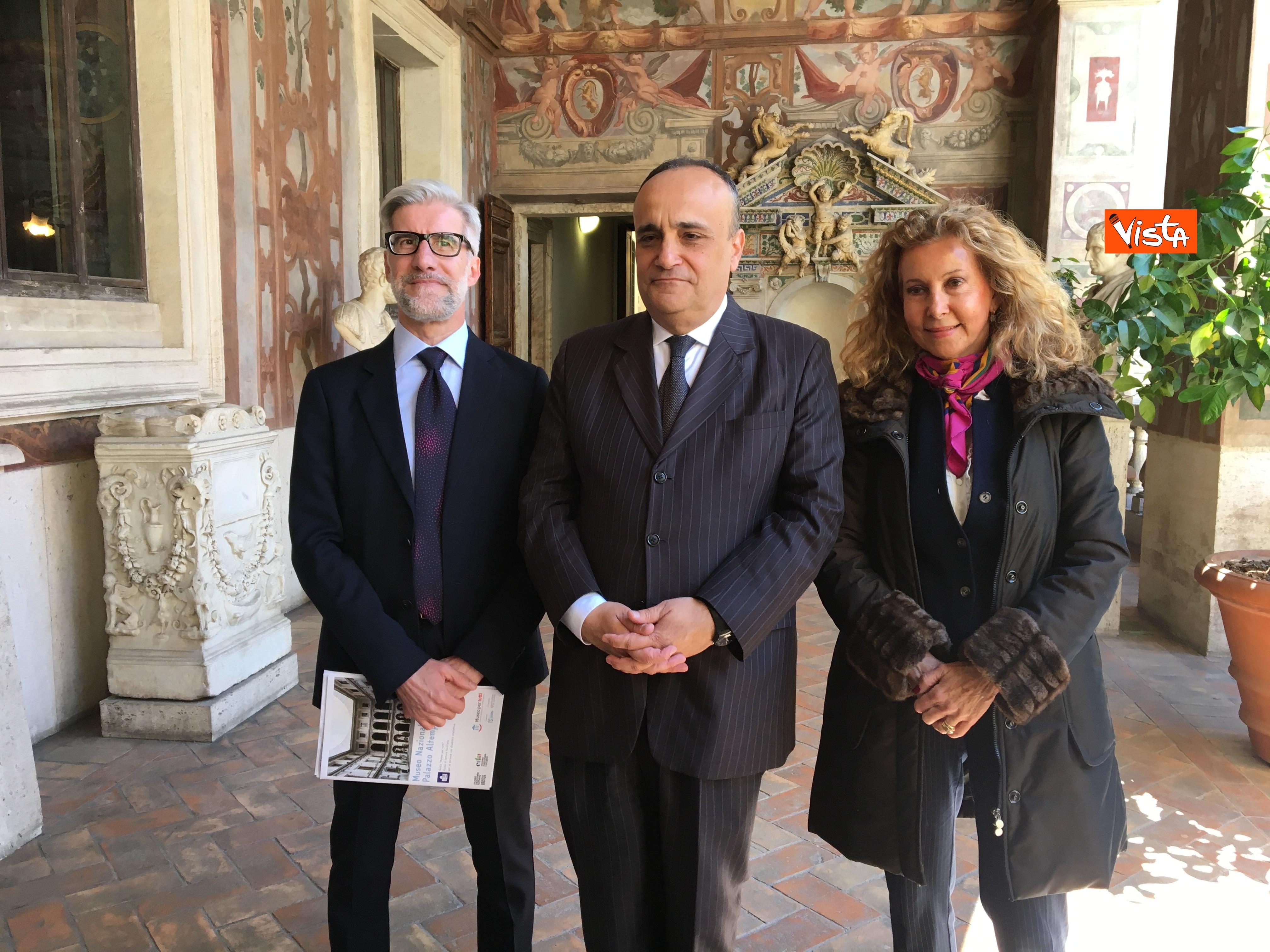 16-05-19 Museo per tutti la presentazione del progetto con Bonisoli a Palazzo Altemps_10