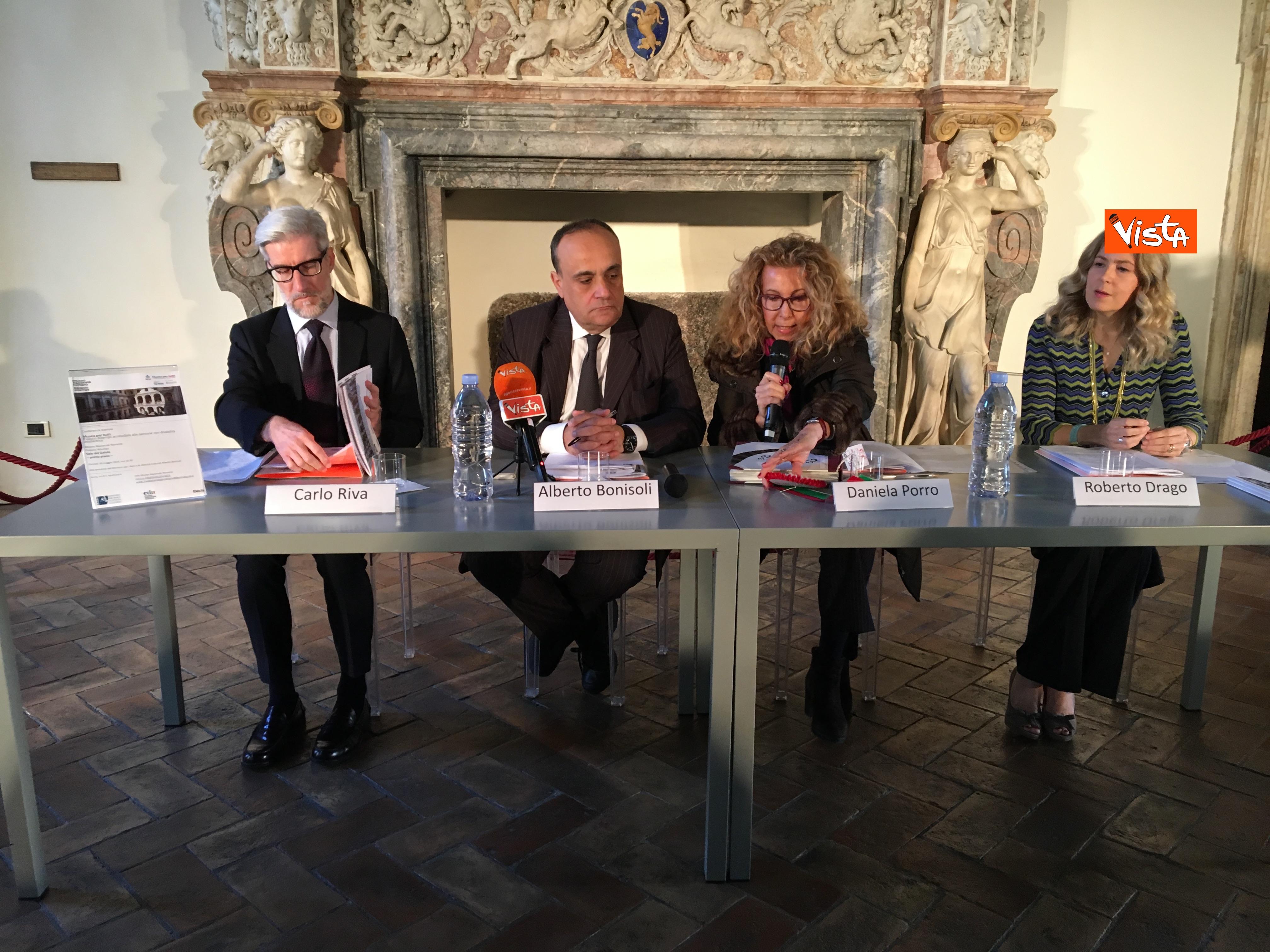 16-05-19 Museo per tutti la presentazione del progetto con Bonisoli a Palazzo Altemps_07