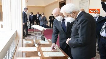 5 - Mattarella all'università di Sassari per commemorare Cossiga, le immagini
