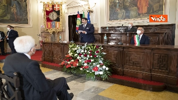 12 - Mattarella all'università di Sassari per commemorare Cossiga, le immagini