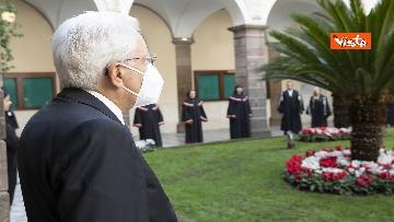 2 - Mattarella all'università di Sassari per commemorare Cossiga, le immagini
