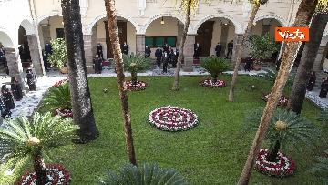 3 - Mattarella all'università di Sassari per commemorare Cossiga, le immagini
