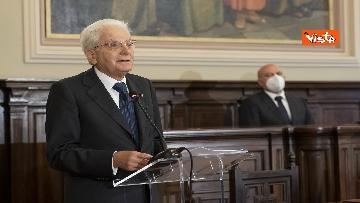 17 - Mattarella all'università di Sassari per commemorare Cossiga, le immagini
