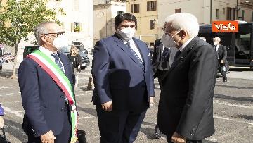 8 - Mattarella all'università di Sassari per commemorare Cossiga, le immagini