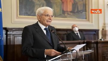 18 - Mattarella all'università di Sassari per commemorare Cossiga, le immagini