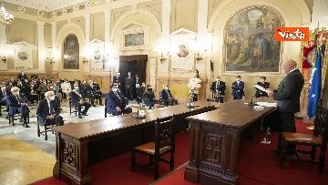 13 - Mattarella all'università di Sassari per commemorare Cossiga, le immagini