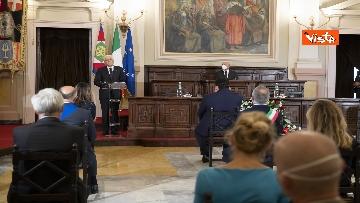 16 - Mattarella all'università di Sassari per commemorare Cossiga, le immagini
