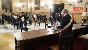 11 - Mattarella all'università di Sassari per commemorare Cossiga, le immagini