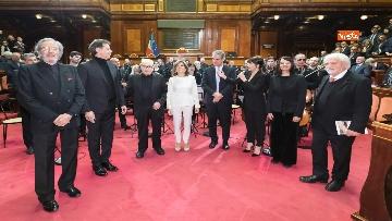 6 - Ennio Morricone premiato in Senato dalla presidente Casellati