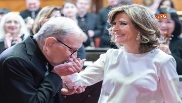 3 - Ennio Morricone premiato in Senato dalla presidente Casellati