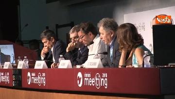 5 - Giorgetti e Delrio al meeting di Rimini