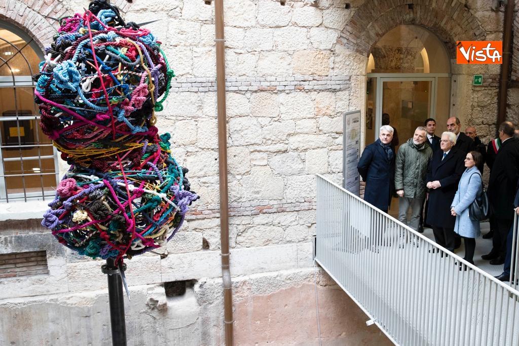 Mattarella visita la biblioteca dell'Universita' di Verona_02