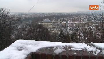 16 - Torna il freddo, e la neve imbianca Torino