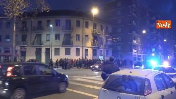 5 - Il presidio degli anarchici a Torino contro la Lega