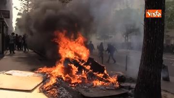 20 - Gilet gialli, 1 Maggio di scontri a Parigi