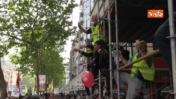 8 - Gilet gialli, 1 Maggio di scontri a Parigi