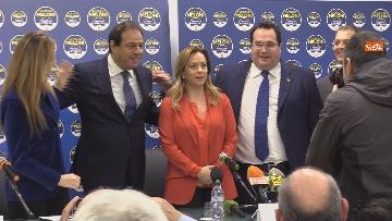 5 - Conferenza stampa Fratelli d'Italia per le elezioni suppletive, le immagini