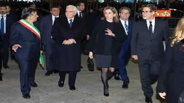 1 - Mattarella al Teatro Massimo partecipa a cerimonia di chiusura