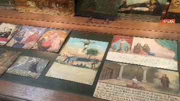 10 - Cultura, Mibac restituisce a Messico 594 dipinti ex voto, la firma fra Bonisoli e ministra Guerrero