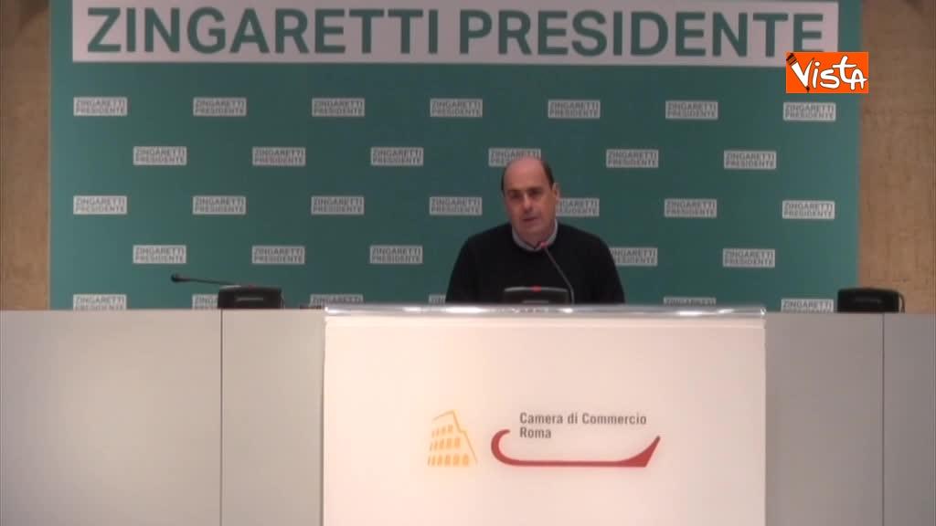 06-03-18 Zingaretti riconfermato presidente Regione Lazio in conferenza stampa a Roma, immagini 01_185923187516463999680